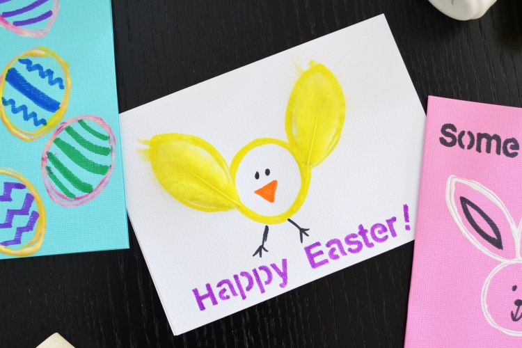 Cute Stamped Easter Cards