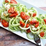 Coodles and Roasted Tomatoes with Lemon Dill Dressing