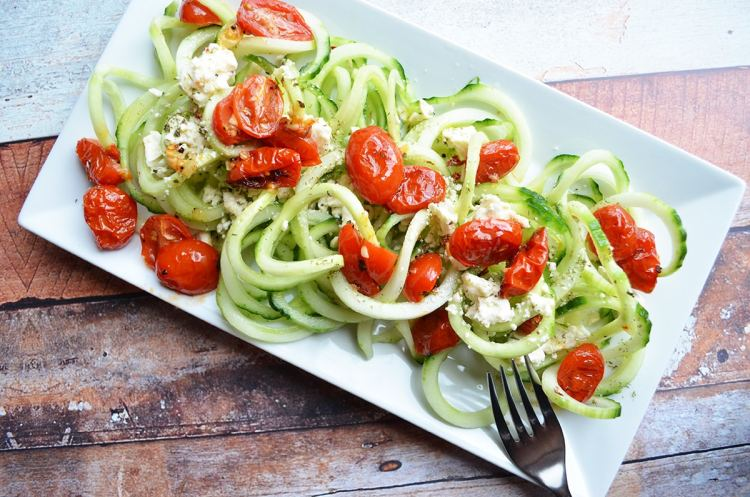 Coodles and Roasted Tomatoes
