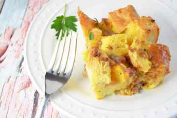 Sausage Cheese and Egg Casserole