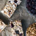 CRANBERRY GRANOLA TREAT BARS