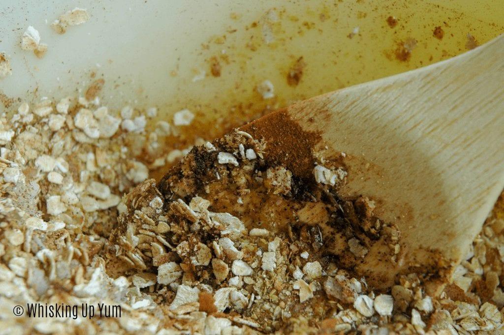 How to make homemade granola - Whisking up Yum