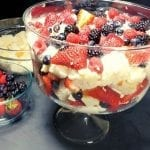 Summer Berry Trifle With Angel Food Cake