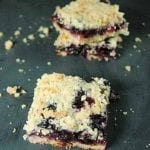 Easy Blueberry Crumble Bars