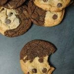 Chocolate Chip Brownie Cookies - Brookies Recipe