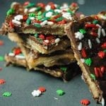 The Best Quick and Easy Crack Toffee Recipe with Saltine Crackers