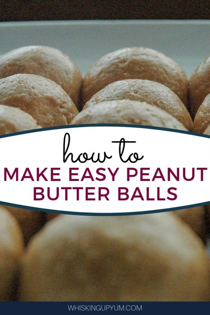 Easy no-bake peanut butter balls. No bake dessert | no bake cookies | Dessert recipe easy | Simple dessert recipe | Quick snacks for kids | Easy snack ideas