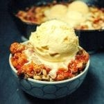 Quick and Easy Strawberry Rhubarb Crisp