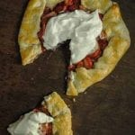 Quick and Easy Strawberry Galette