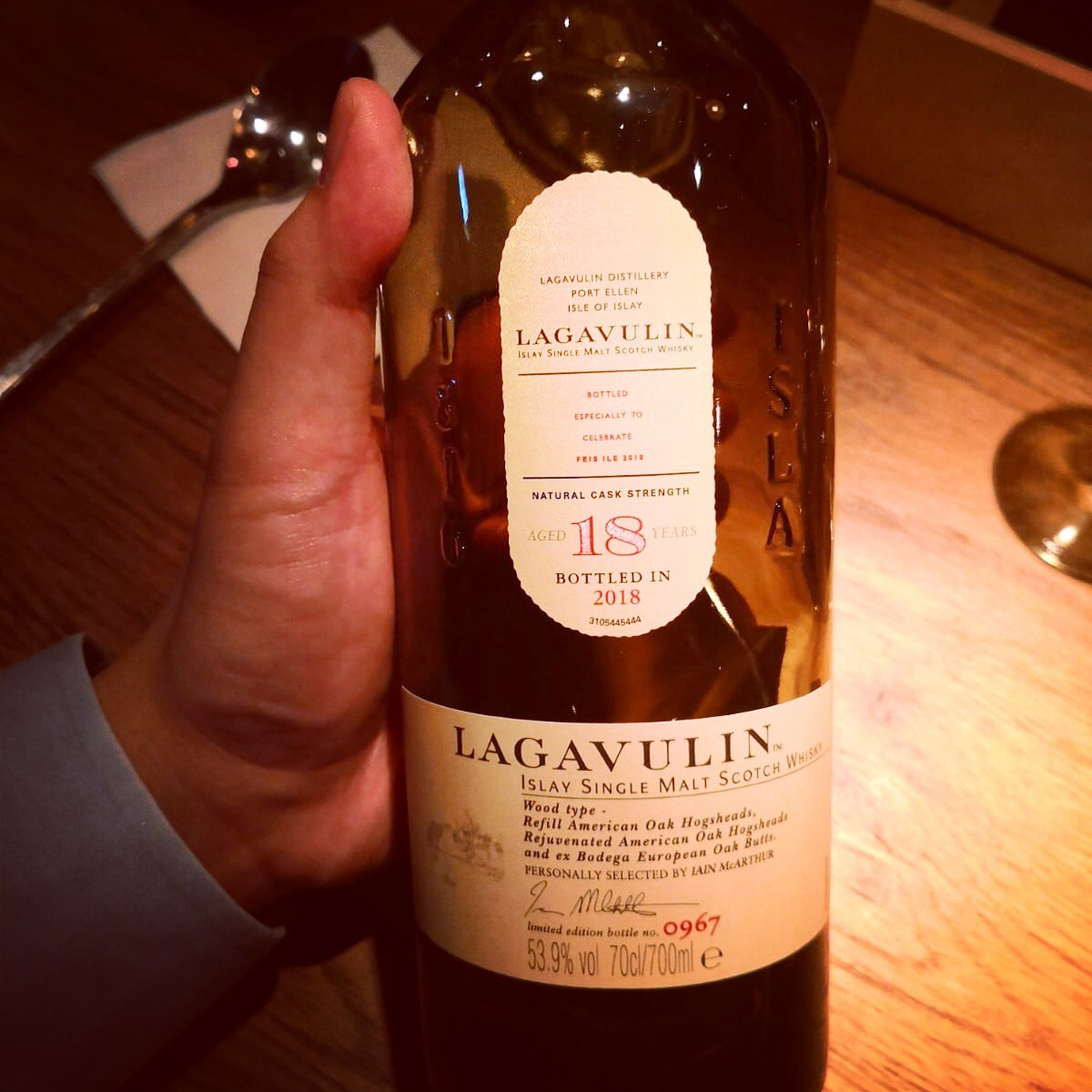 Dram Review: Lagavulin Aged 18 Years Feis Ile 2018