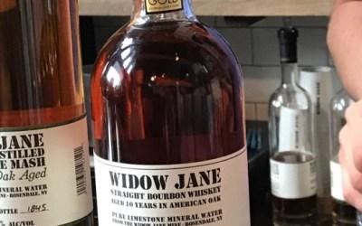 Widow Jane 10 years - A wonderful Bourbon from Brooklyn