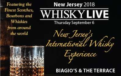 Whisky Live USA for the first time in New Jersey : Paramus, Sept. 6th 2018