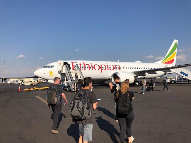 Addis Ababa to Toronto to Vancouver to Victoria
