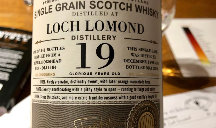 A couple more tasting notes before the madness of Whiskyfest…