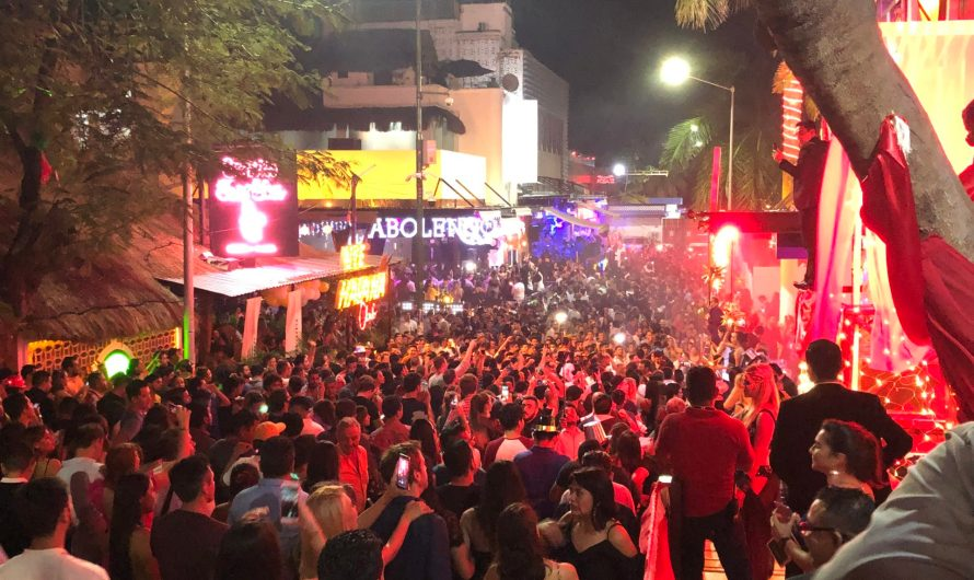 Mexico Day 9: New Year's Eve in Playa del Carmen