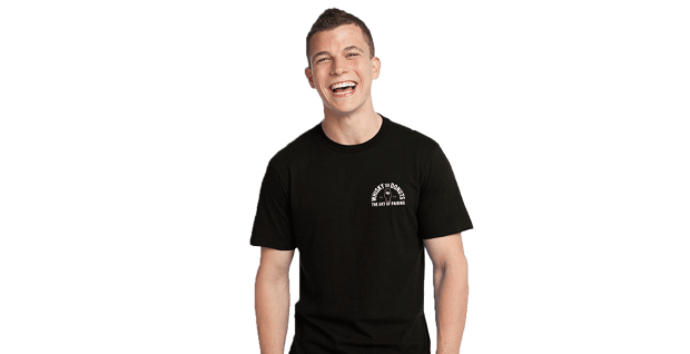Warehouse Mens Tee Slider - Whisky and Donuts