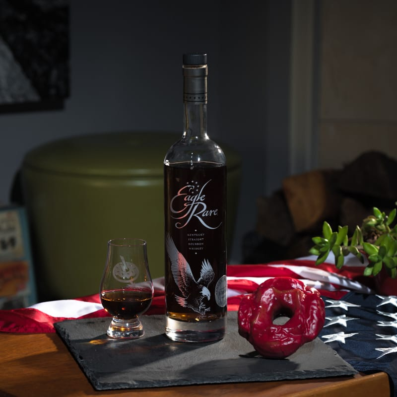 EAGLE RARE 10 - RASPBERRY ROSEMARY BUTTERMILK - Whisky And Donuts - whiskyanddonuts.com