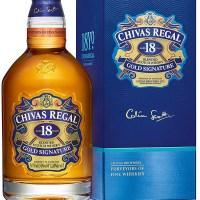 Chivas Regal 18yo Gold Signature