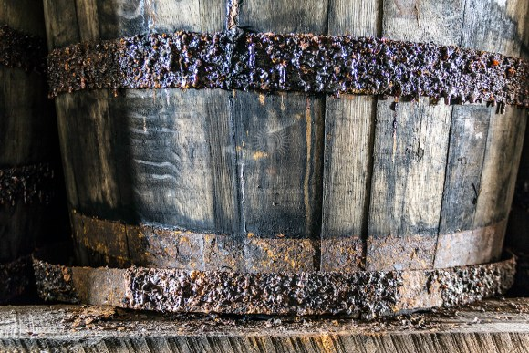 Nature takes its toll on whisky barrels over the years. While the interaction between spirit and wood can gradually erode a barrel from the inside, humidity takes its toll on the steel hoops holding the barrel together. At some point, perhaps during a barrel's second or third filling, nature might just win as the rust-weakened hoop snaps.