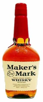 A bottle of Maker's Mark Bourbon. Photo courtesy Maker's Mark.
