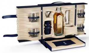 The Alfred Dunhill Johnnie Walker Blue Label Collection trunk. Photo courtesy Diageo.
