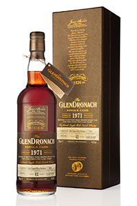 GlenDronach's 1971 Single Cask Whisky. Image courtesy GlenDronach.