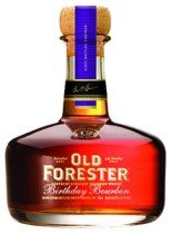 Old Forester 2013 Birthday Bourbon. Image courtesy Brown-Forman.