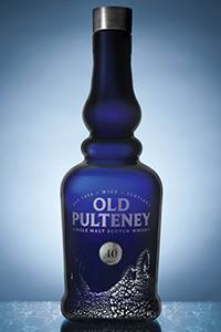 Old Pulteney 40 Single Malt Scotch Whisky. Image courtesy Old Pulteney.