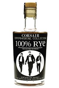 Corsair 100% Rye Whiskey. Image courtesy Corsair Artisan Distillery.