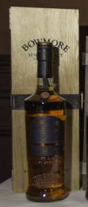 Bowmore 17 1981 Vintage Single Malt Scotch Whisky. Photo ©2013 by Mark Gillespie.