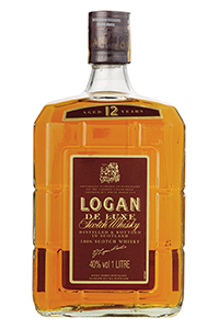 Logan 12 Blended Scotch Whisky. Image courtesy Diageo.