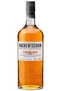 Auchentoshan Virgin Oak. Image courtesy Morrison Bowmore Distillers.