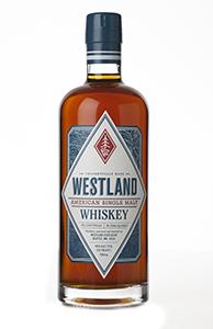 Westland American Single Malt Whiskey. Image courtesy Westland Whiskey.