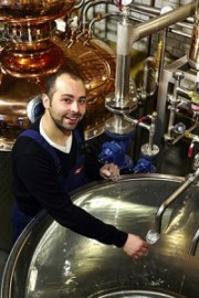 Darren Rook, CEO and co-founder of the London Distillery Company. Photo courtesy London Distillery Company.