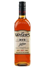 J.P. Wiser's Rye. Image courtesy Corby Distilleries/Pernod Ricard USA.