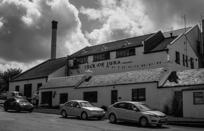 Whyte & Mackay's Jura Distillery is included in Diageo's proposal to sell Whyte & Mackay. Photo ©2010 by Mark Gillespie.