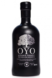 OYO Michelone Reserve Bourbon. Image courtesy Middle West Spirits.