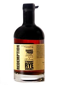 Redemption Rye Barrel Proof. Image courtesy Bardstown Barrel Selections/Strong Spirits.