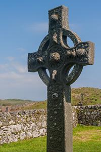 Islay's Kildalton Cross is the namesake for the Ardbeg Kildalton charity bottling. Photo ©2010 by Mark Gillespie.