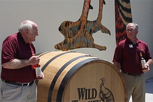 Wild Turkey's Jimmy and Eddie Russell during the dedication of Wild Turkey's new distillery in June, 2011. Photo ©2011 by Mark Gillespie.