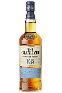 The Glenlivet Founder's Reserve. Image courtesy The Glenlivet/Chivas Brothers.
