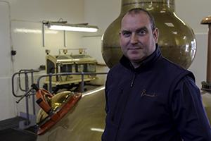 Benromach Distillery's Keith Cruickshank. Photo ©2015 by Mark Gillespie.