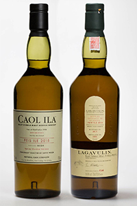 The Lagavulin & Caol Ila Feis Ile festival bottlings for 2015. Images courtesy Diageo.