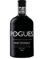 The Pogues Irish Whiskey. Image courtesy The Pogues/West Cork Distillers.