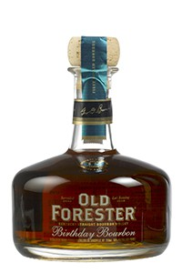 Old Forester Birthday Bourbon 2015 Edition, Image courtesy Old Forester/Brown-Forman.