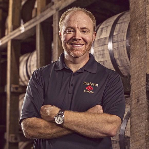 Four Roses Master Distiller Brent Elliott. Image courtesy Four Roses.