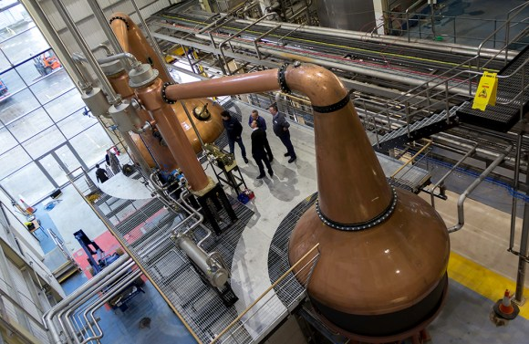 A view of the Waterford Distillery in Waterford, Ireland. Photo ©2015 by Mark Gillespie.