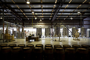 The New World Whisky Distillery in Melbourne, Australia. Image courtesy Starward/New World Whisky Distillery.