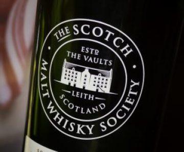A Scotch Malt Whisky Society bottle. Photo ©2016, Mark Gillespie, CaskStrength Media.