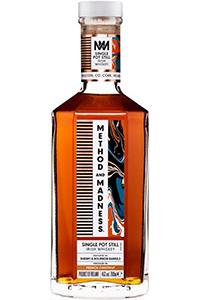 Method and Madness Single Pot Still Irish Whiskey. Image courtesy Irish Distillers Pernod Ricard.